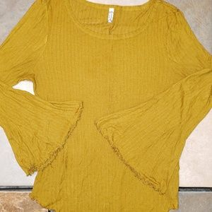 Intimately Free People Bell Sleeve Top
